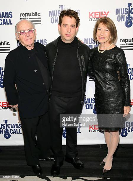 Executive Vice President Of Republic Records, Charlie Walk and guests attend Musicians On Call Celebrates Its 15th Anniversary Honoring Kelly...