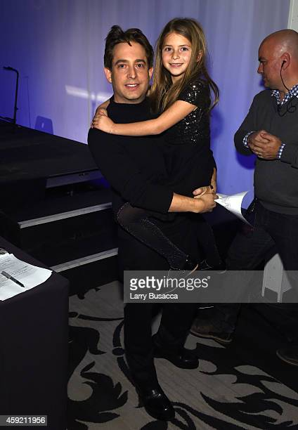 Executive Vice President Of Republic Records, Charlie Walk and his daughter attend Musicians On Call Celebrates Its 15th Anniversary Honoring Kelly...