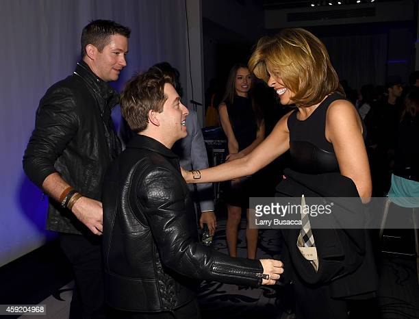 Executive Vice President Of Republic Records, Charlie Walk and Hoda Kotb attend Musicians On Call Celebrates Its 15th Anniversary Honoring Kelly...