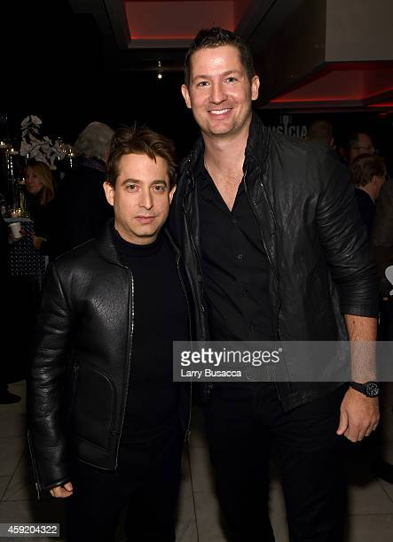 Executive Vice President Of Republic Records, Charlie Walk and Pete Griffin attend Musicians On Call Celebrates Its 15th Anniversary Honoring Kelly...