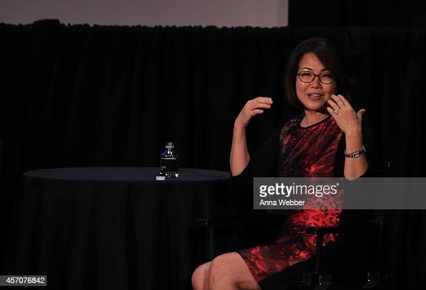 Executive Vice President of Science Programs at The Kavli Foundation Miyoung Chune speaks during the New Yorker Festival 2014 Map Of Your Brain With...