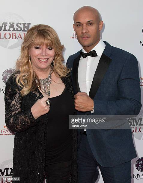 Executive Vice President of Smash Global Jackie Kallen and founder of Smash Global and professional MMA fighter Steve Orosco attend Smash Global III...