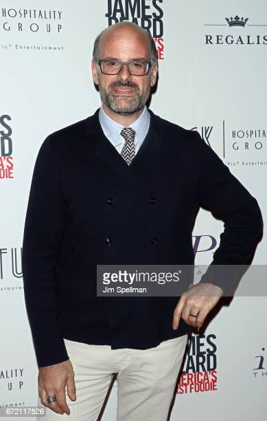 Executive vice president of the James Beard Foundation Mitchell Davis attends the James Beard America's First Foodie NYC premiere at iPic Fulton...