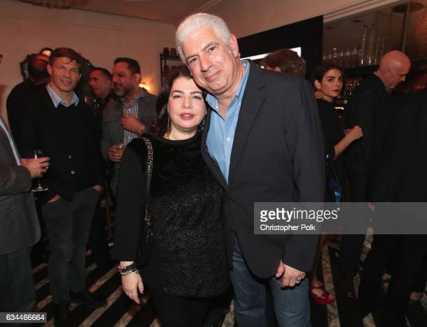 Executive Vice President of US Recorded Music Michele Anthony and Managing Director of Creative Artists Agency Rob Light attend 2017 Billboard Power...