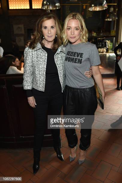Executive Vice President Tribeca Enterprises Paula Weinstein and Piper Perabo at Through Her Lens The Tribeca Chanel Women's Filmmaker Program...