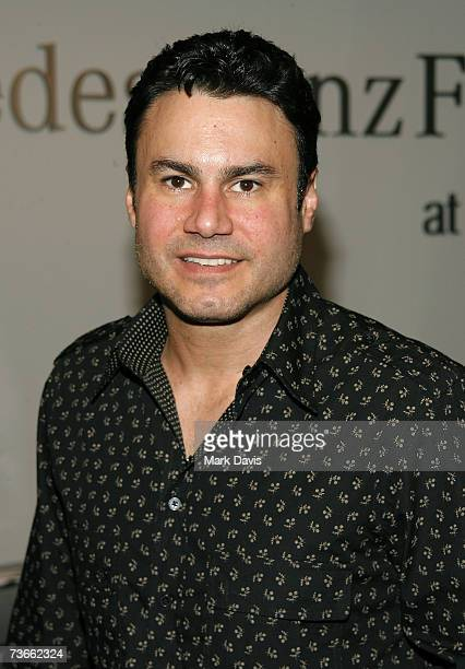 Executive vice president with Maloof Companies Phil Maloof attends Mercedes Benz Fashion Week held at Smashbox Studios on March 21 2007 in Culver...