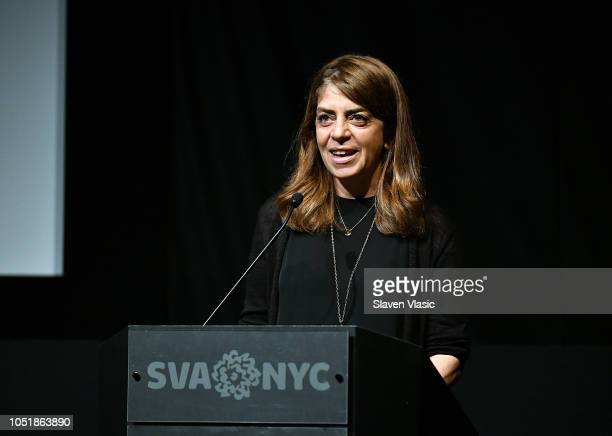 Executive vice presidents of HBO Documentary Nancy Abraham attends a special screening of the HBO documentary film The Sentence at SVA theater on...