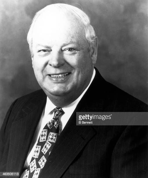 """Executive VP of Baseball Operations James """"Lou"""" Gorman of the Boston Red Sox poses for a portrait in March, 1995 in Boston, Massachusetts."""