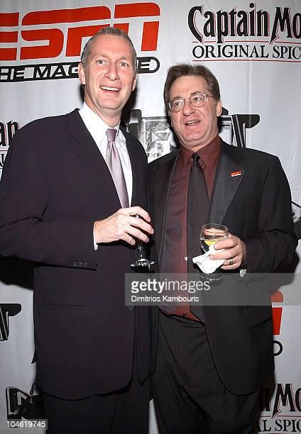 Executive VP of ESPN John Skipper and John Papanek editorinchief ESPN The Magazine