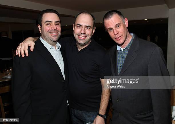 Executive VP of Universal Music Publishing Evan Lamberg executive VP of Atlantic Records Pete Ganbarg and Michael Goldstone of Mom Pop Music Company...
