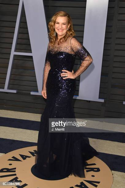 Executive West Coast Editor of Vanity Fair Krista Smith attends the 2018 Vanity Fair Oscar Party hosted by Radhika Jones at the Wallis Annenberg...