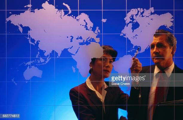 Executives Plotting Global Strategy
