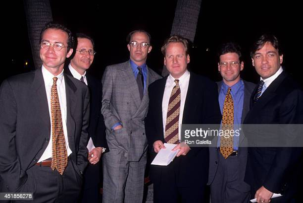 CAA executives Richard Lovett Bryan Lourd David O'Connor Jay Moloney and Kevin Huvane attend the Sense and Sensibility Beverly Hills Premiere on...
