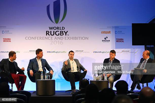 ExEngland Sevens Captain and MD of Work Athlete Rob Vickerman Global Head of Performance Lab for STATS Paul Neilson CEO Founder of Kitman Labs...