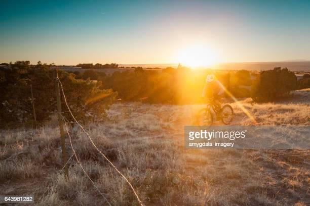 exercise adventure sunset nature