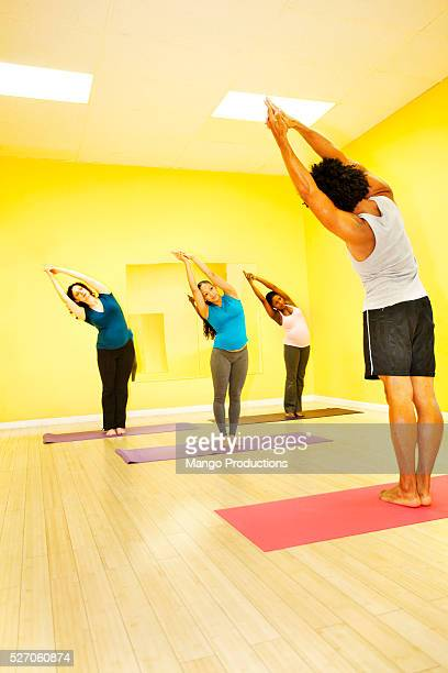 Exercise class for pregnant women