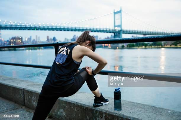 exercício melhora a minha vida - east harlem - fotografias e filmes do acervo