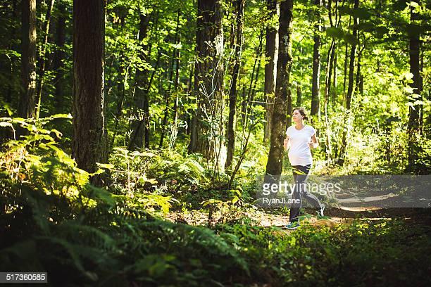 Exercice de jogging dans la grossesse