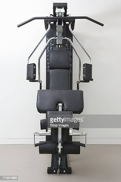 Exercise machine in gym