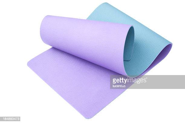 exercise mat - mat stock pictures, royalty-free photos & images