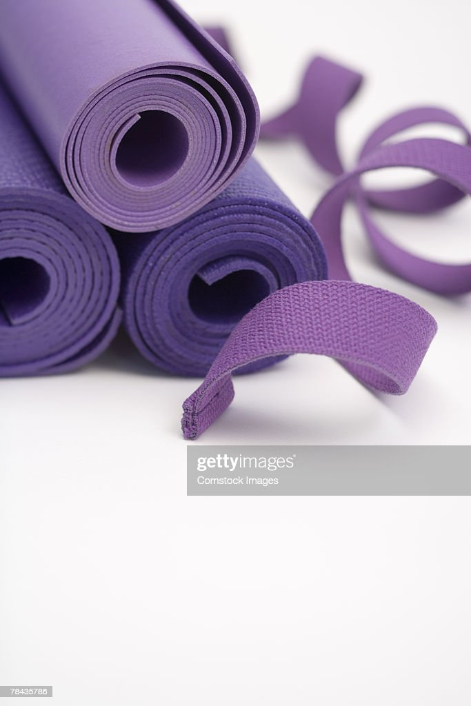 Exercise mats : Stockfoto