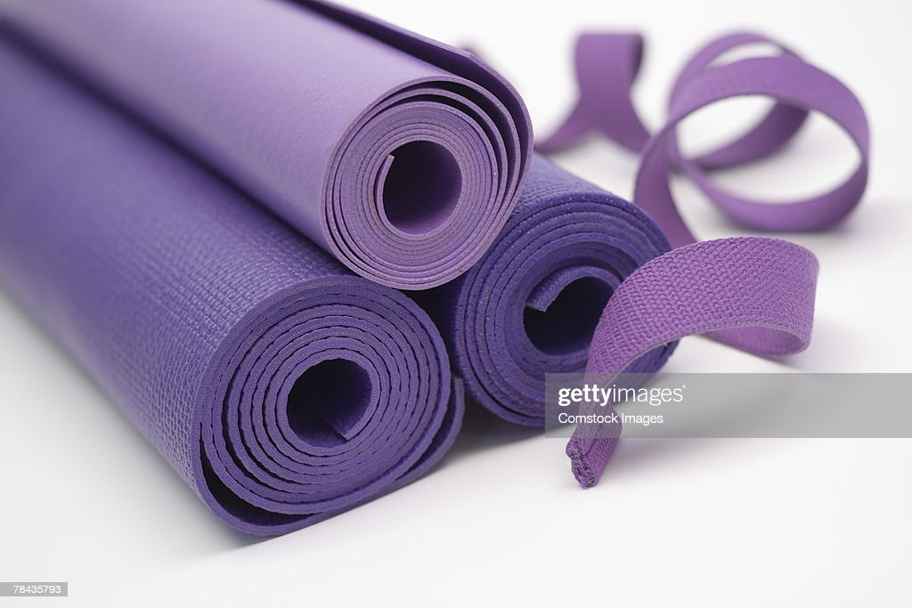 Exercise mats : Stockfoto