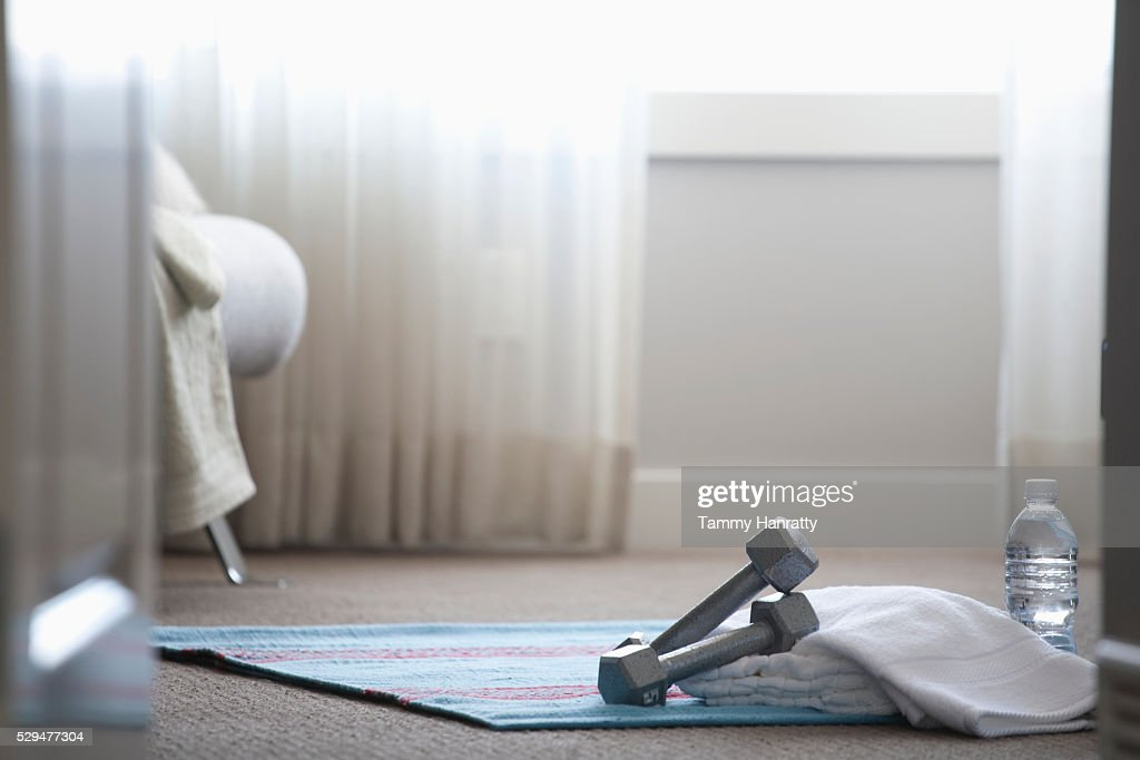 Exercise space : Stock Photo