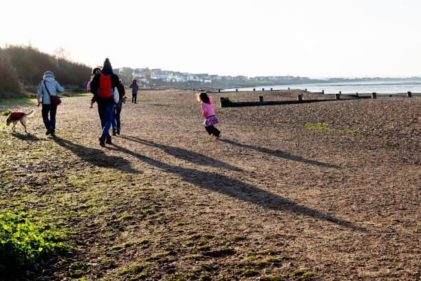 GBR: Seaside Winter Amid Coronavirus Lockdown In England