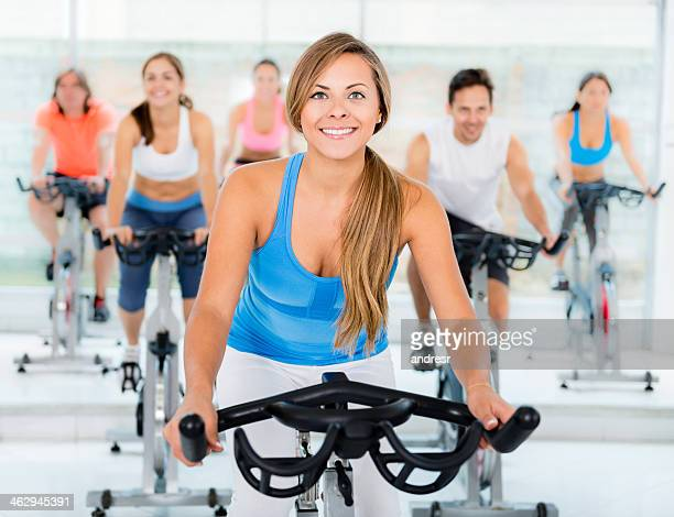 exercising class - hot teacher stock pictures, royalty-free photos & images