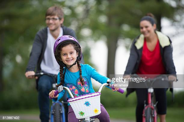 Exercising on a Bike Ride