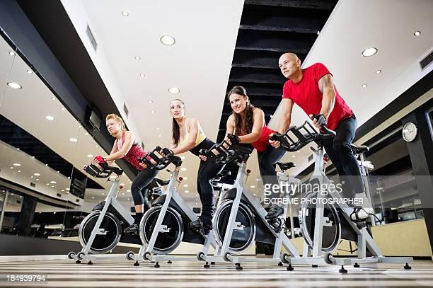 Exercising Spinning