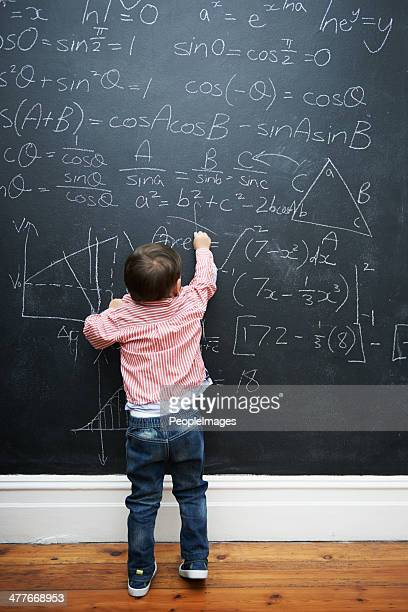 exercising the mind - child prodigy stock pictures, royalty-free photos & images