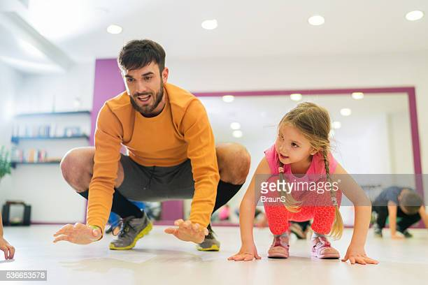 Exercising to walk on all fours!