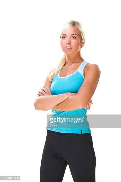Exercising Young Woman