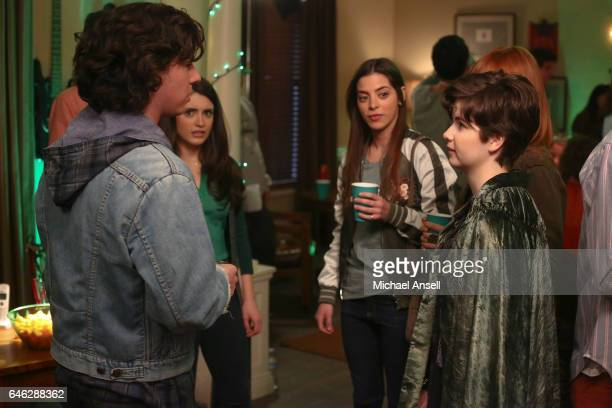 THE MIDDLE 'Exes and Ohhhs' After Axl runs into just about all of his exgirlfriends while attending a St Patrick's Day party including Devin Levin...