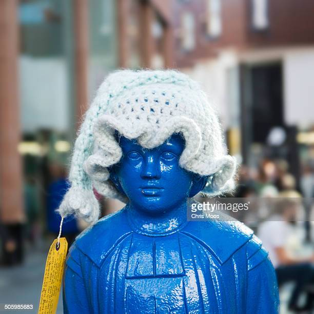 Exeter Blue boy gets covered