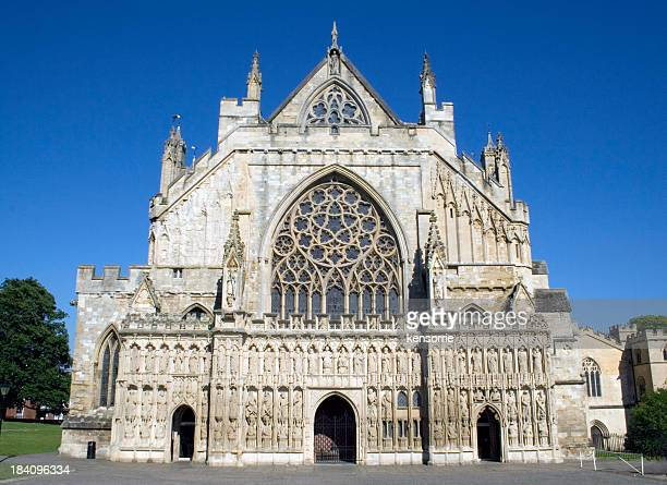 Exeter Cathedral facade