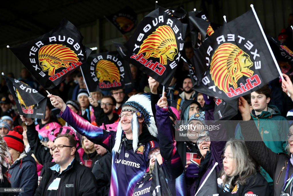 Bath Rugby v Exeter Chiefs - Anglo-Welsh Cup Final : News Photo