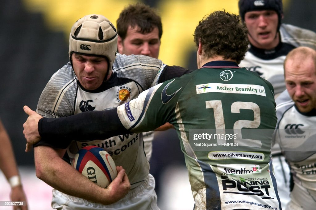 Rugby Union - National League One - Nottingham v Exeter Chiefs - Meadow Lane : News Photo