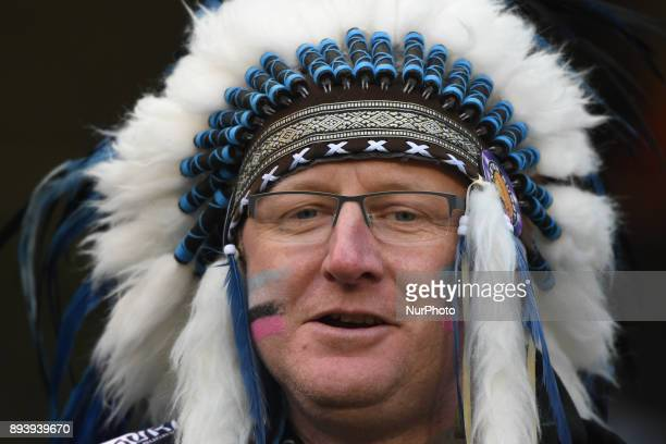 Exeter Chiefs' supporter ahead of the European Rugby Champions Cup rugby match Leinster vs Exeter Chiefs at the Aviva Stadium Dublin On Saturday 16...