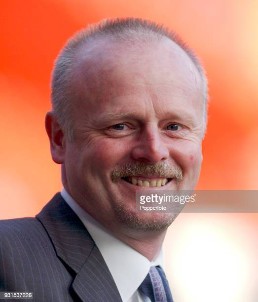 Exeter City manager Neil McNab during the FA Cup 3rd round match between Charlton Athletic and Exeter City at The Valley in London on January 4 2003