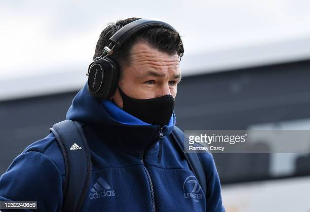 Exeter , United Kingdom - 10 April 2021; Cian Healy of Leinster prior to the Heineken Champions Cup Pool Quarter-Final match between Exeter Chiefs...