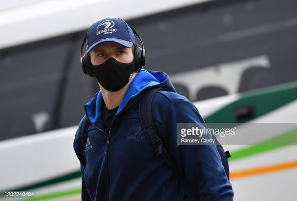 Exeter , United Kingdom - 10 April 2021; Ryan Baird of Leinster prior to the Heineken Champions Cup Pool Quarter-Final match between Exeter Chiefs...