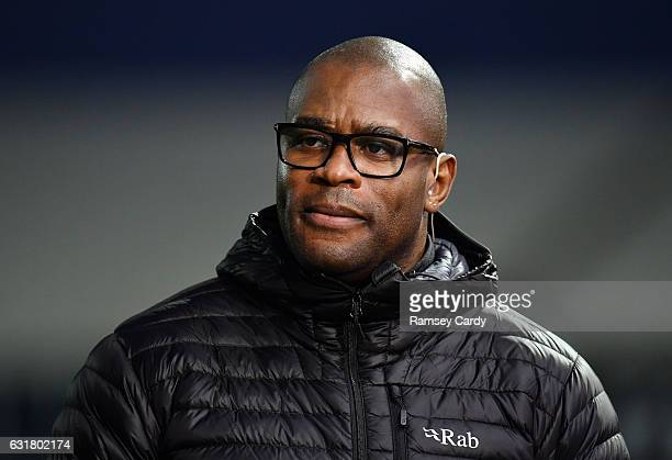 Exeter , United Kingdom - 15 January 2017; BT Sport pundit Ugo Monye ahead of the European Rugby Champions Cup Pool 5 Round 5 match between Exeter...