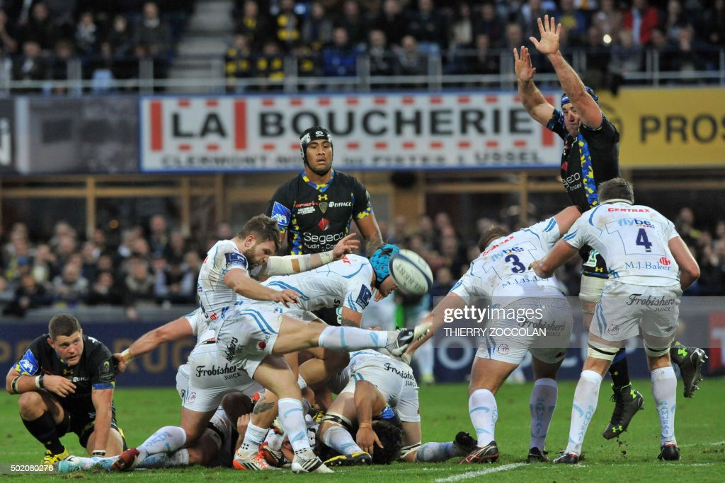 RUGBYU-EUR-CUP-CLERMONT-EXETER : News Photo