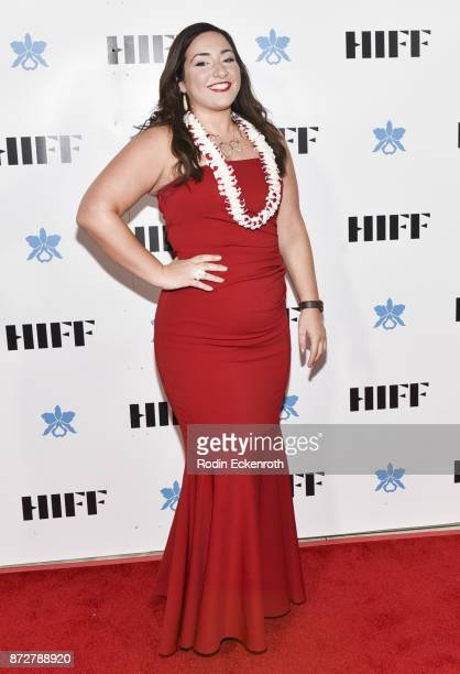 Exeucutive Director Beckie Stocchetti attends the 37th Annual Hawaii International Film Festival Gala presented by Halekulani on November 10 2017 in...