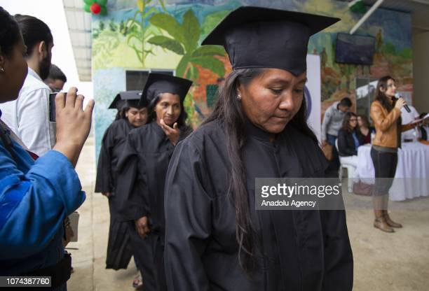 120 exFarc fighters mostly indigenous and members of the Nasa community completed their training in production of hass avocados tree tomatoes fish...