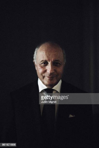 ExFrench Prime Minister Laurent Fabius is photographed for L'Express on October 2016 in Paris France
