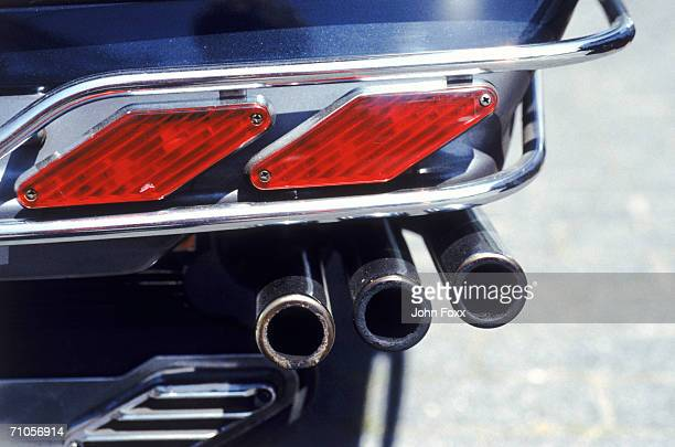 exhaust pipe of motorcycle - tail light stock pictures, royalty-free photos & images