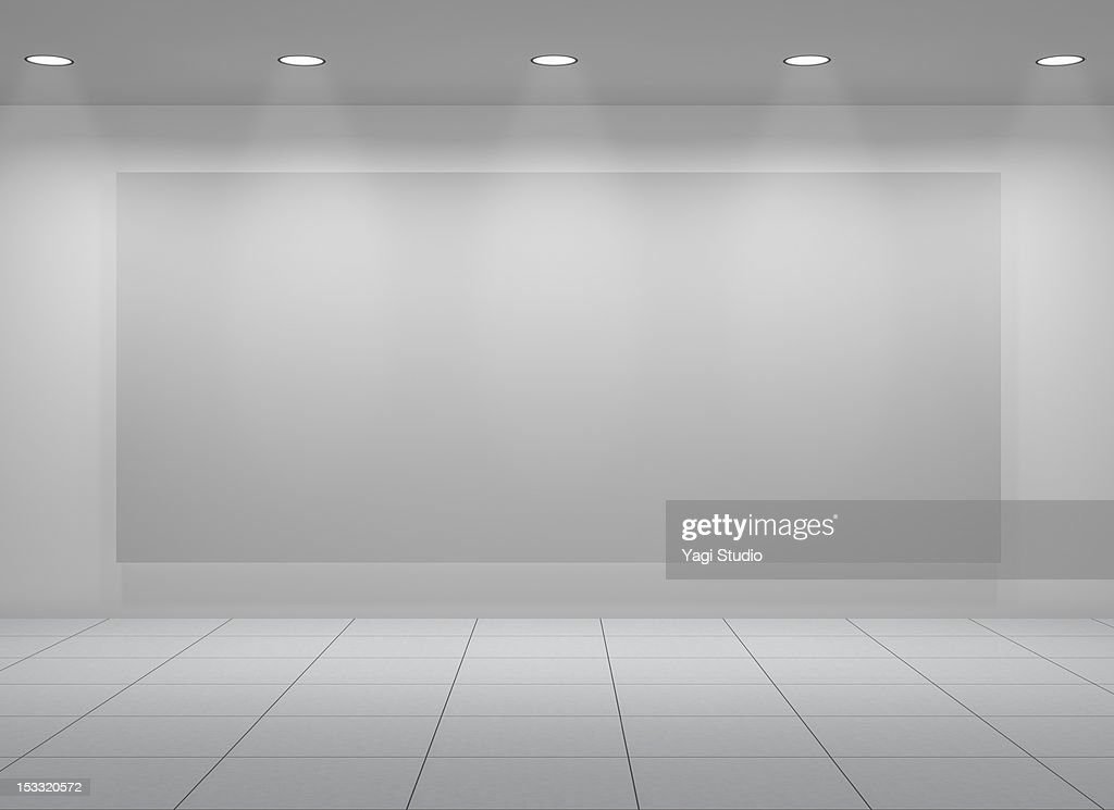Exhibit space : Stock Photo